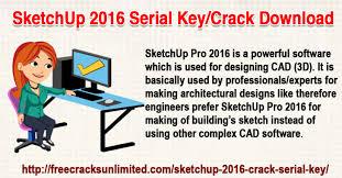 sketchup 2016 serial key download