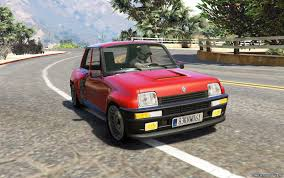 renault 4 tuning renault 5 turbo u0026 rally 2in1 add on replace tuning livery
