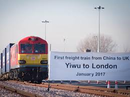 China Train Map by First Direct Train Service From China To The Uk Arrives In London