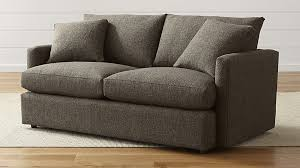 Crate And Barrel Sleeper Sofa Reviews Lounge Ii Comfortable Apartment Sofa In Sofas Reviews Crate