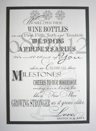 wine bottle guestbook wine bottle guest book sign wedding anniversary birthday special