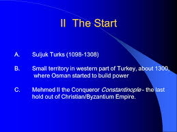 Ottoman Power by The Ottoman Empire Ottoman I Intro A Ottomans Are I One Of The