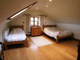 Bedrooms With Wood Floors by Bedroom Attractive And Functional Attic Bedroom Design Ideas To