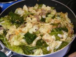 cuisiner le chou pointu krautfleckerl ou poêlée à base de chou pointu recette ptitchef