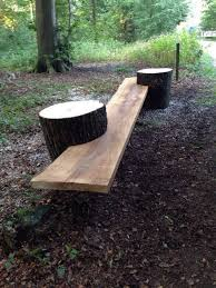 really cool log bench i couldn u0027t find a source for the picture
