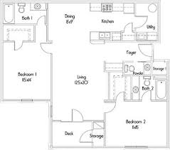 completely open floor plans floor plans for our luxury apartments for rent the cottages at
