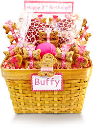 per gift basket treat worthy pet creations customized pet gift baskets