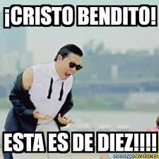 Cristo Meme - meme gangnam style cristo bendito esta es de diez 3471147