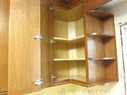 kitchen cabinet corner shelf blind corner shelves patternd me