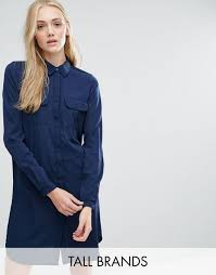 vero moda tops flipkart vero moda tall classic shirt dress black
