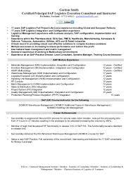 Warehouse Logistics Resume Sample by 100 Sap Resume Breaking Into Sap Sap Bo Syllabus Sap Bo