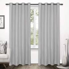 white blackout curtains u0026 drapes shop the best deals for dec