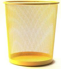 le de bureau jaune corbeille à papier jaune pour le bureau kollori com