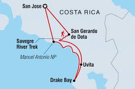 San Jose Costa Rica Map by Hike Raft U0026 Canyon In Costa Rica Costa Rica Tours Intrepid