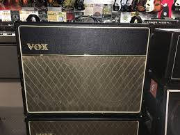 vox ac30 2x12 extension cabinet tym guitars
