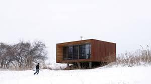 Modern Tiny House Prefab 366 Sq Ft Modern Tiny House