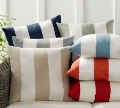 pb classic stripe indoor outdoor pillow pottery barn