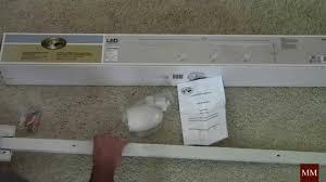 track lighting no wiring installing a hton bay led track lighting kit youtube