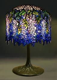 tiffany l base reproductions wisteria l stained glass ls lighting tiffany wisteria l