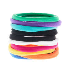 hair bobbles 10 pack rainbow hair bobbles s