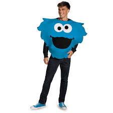 cookie monster and elmo halloween costumes sesame street cookie monster big head halloween costume size l
