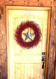 horseshoe wreath rustic decor liwenyun me