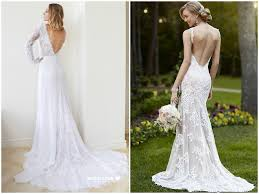 lace open back wedding dress 2017 backless wedding dresses gowns
