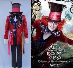 Mad Hatter Halloween Costume Alice Im Wunderland 2 Mad Hatter Cosplay Kostüm Erwachsene Kostüme