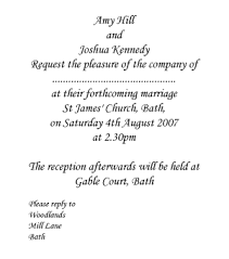 wedding invitation wording from and groom wedding invitations wording from and groom informal and
