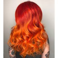 fiery red color melt behindthechair com