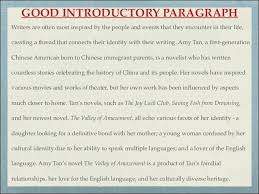 examples of introduction paragraph to an essay amitdhull co
