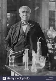 how did thomas edison invent the light bulb thomas edison stock photos thomas edison stock images alamy