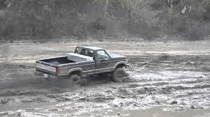 Ford Diesel Trucks Mudding - ferndale river bar mudding 1986 ford f350 7 3 idi ford excursion