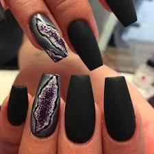 geode nail trend popsugar beauty