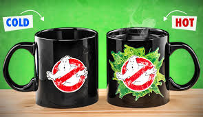 heated coffee mug ghostbusters heat change mug officially licensed oversized
