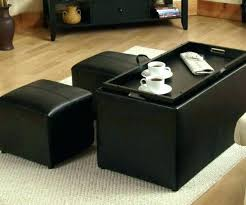 Storage Ottoman Coffee Table Coffee Table With Storage Ottomans Wonderful Coffee Table Storage