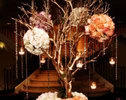 manzanita centerpieces 16 tree champagne gold manzanita branches only centerpiece
