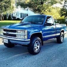nissan trucks blue grant ralston 1997 chevy silverado lmc truck life