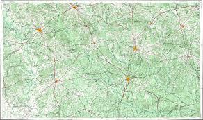 Map Of Houston Area 165 Acres Recreational Land Houston County Tx Land And Farm