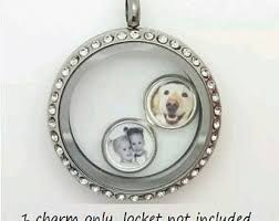 floating locket necklace images Floating locket etsy jpg