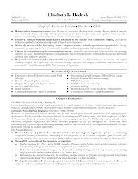Psychology Resume Sample by Non Profit Executive Director Resume Examples Resume Format 2017