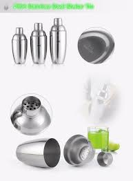 martini shaker set barware gift set cocktail shaker set 10 pieces includes tin