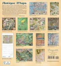 Tempe Zip Code Map by 2017 Antique Maps Wall Calendar The British Library