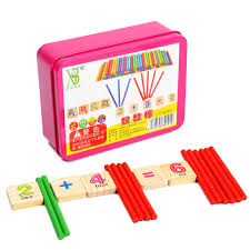 color of intelligence educational wooden montessori math materials digital intelligence