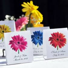 Flower Favors by Gerber Wedding Flower Plant A Memory Favors Gifts