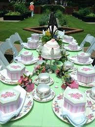 high tea kitchen tea ideas garden table setting ideas table settings for kitchen tea