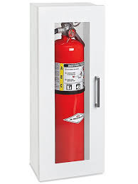 surface mount fire extinguisher cabinets fire extinguisher cabinet 10 lb surface mount h 4872 uline