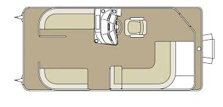 Pontoon Boat Floor Plans by Sw 2086 Sweetwater Godfreypontoons Ngg Nauticglobalgroup