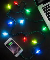 Christmas Strobe Lights Christmas Light Charging Cable Lightning Charging Cable With
