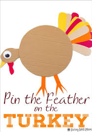 thanksgiving pin pin the on the turkey